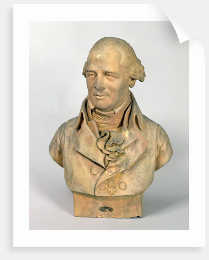 Bust of Louis-Pierre Deseine by Madeleine Anne Deseine