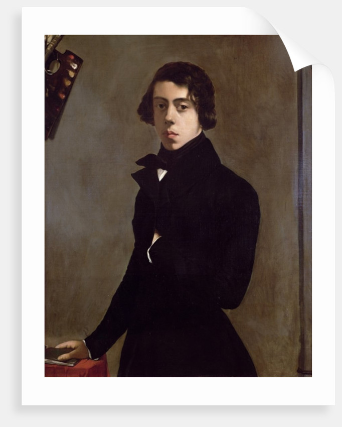 Self Portrait by Theodore Chasseriau