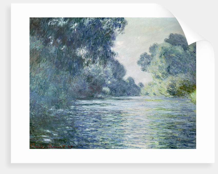 Branch of the Seine near Giverny by Claude Monet