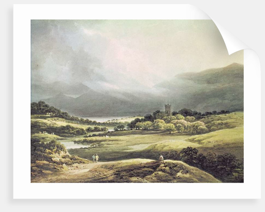 View of Dunloe Castle, Killarney by Richard Sasse