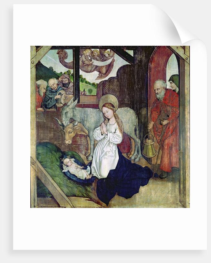 The Nativity by Martin Schongauer
