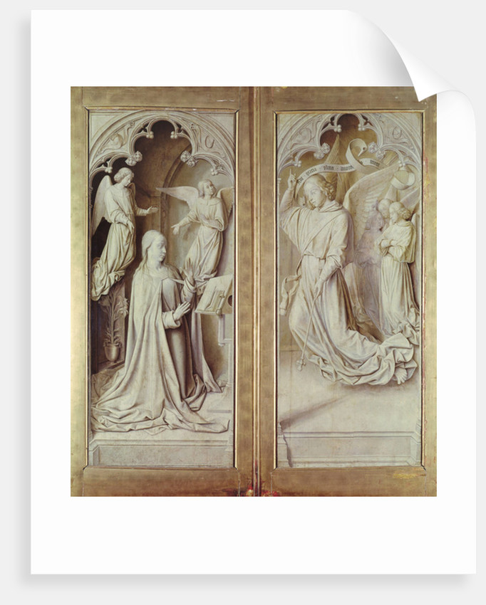 The Annunciation by Master of Moulins