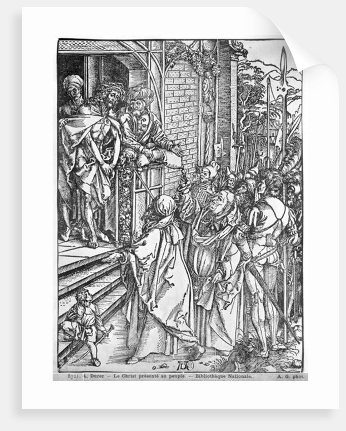 Christ presented to the people by Albrecht Dürer or Duerer