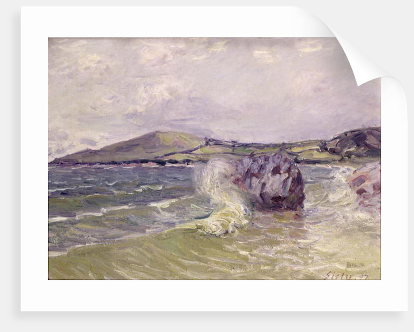 Lady's Cove, Wales by Alfred Sisley