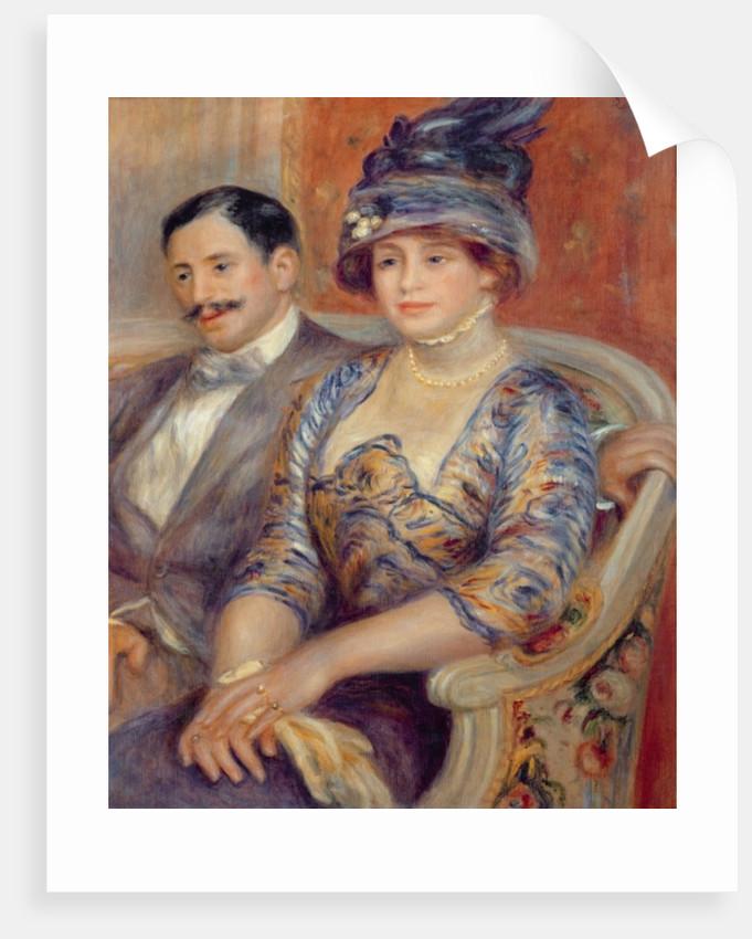 Monsieur et Madame Bernheim de Villers by Pierre Auguste Renoir