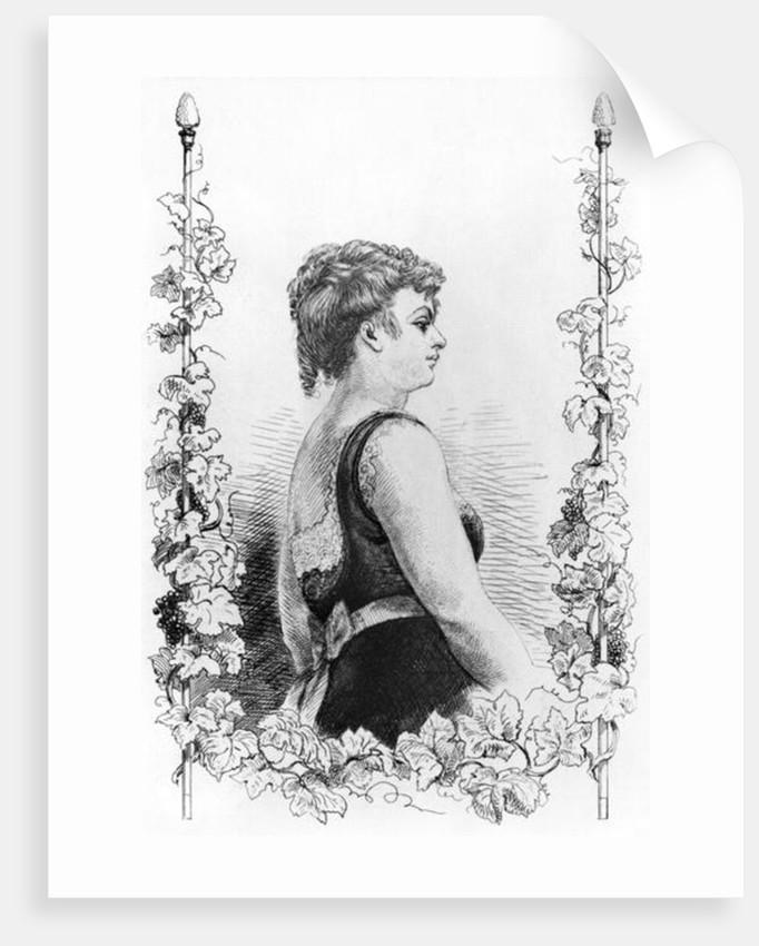 Blanche d'Antigny by French School