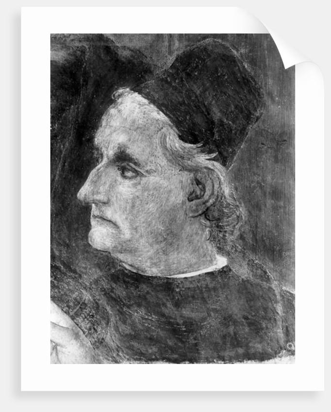 Portrait of Antonio Pollaiuolo by Filippino Lippi