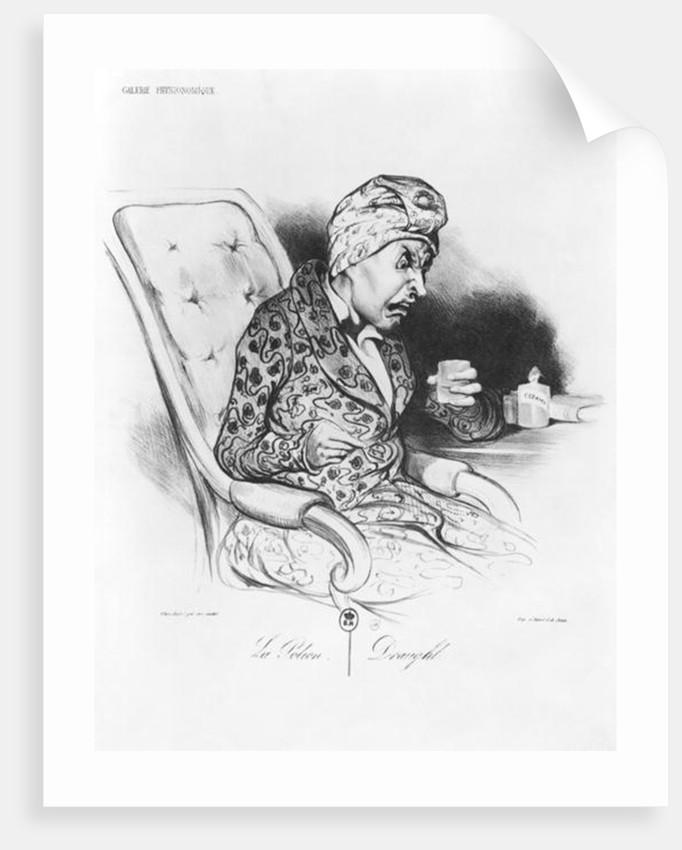 La Potion, Draught by Honore Daumier