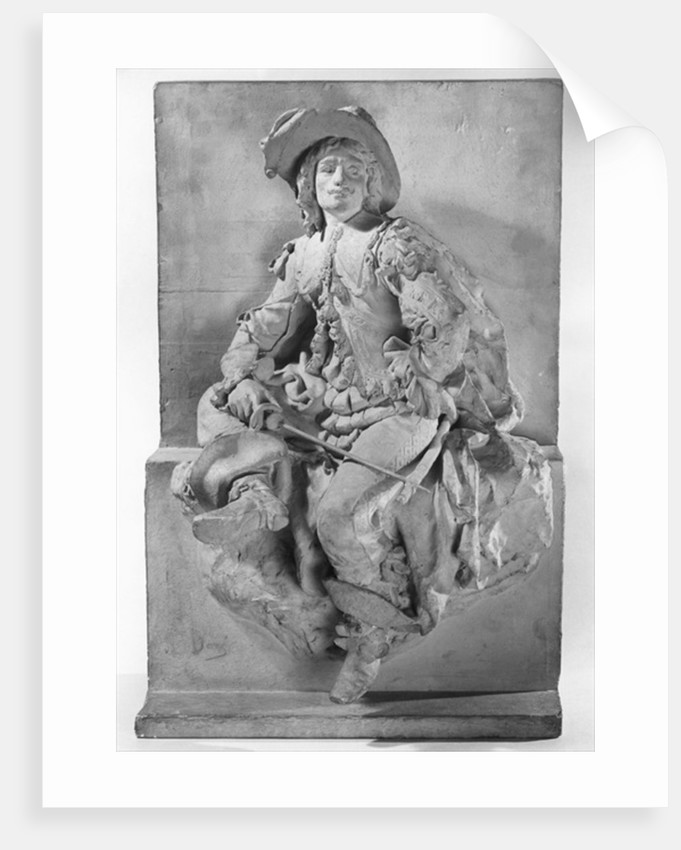 Model for the Monument to Alexandre Dumas Pere, d'Artagnan or Figure of a musketeer by Gustave Dore