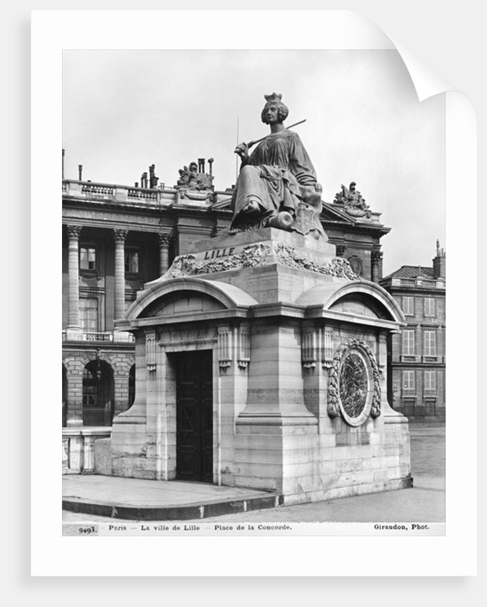 City of Lille by James Pradier