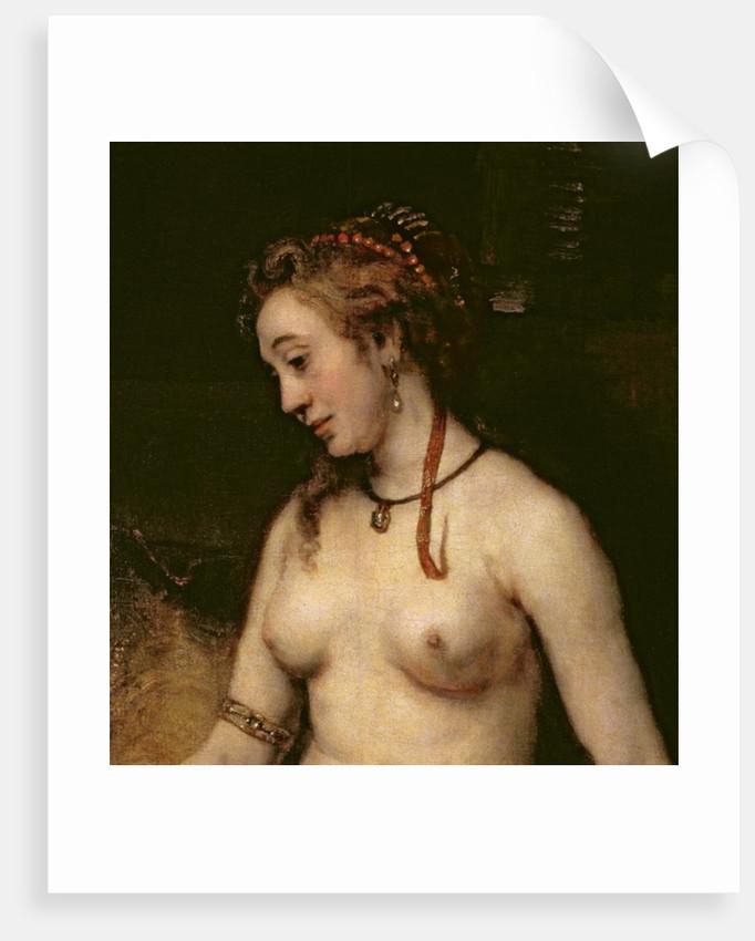 Bathsheba Bathing by Rembrandt Harmensz. van Rijn