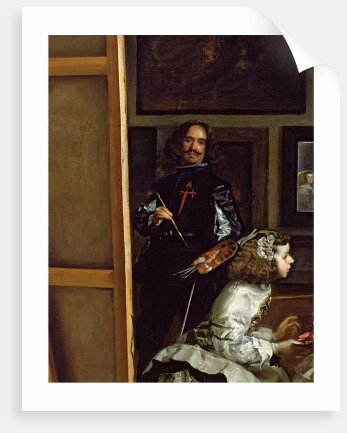 Las Meninas or The Family of Philip IV by Diego Rodriguez de Silva y Velazquez