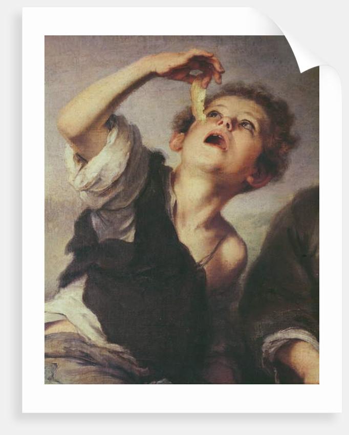 Detail of Children Eating a Pie, 1670-75 by Bartolome Esteban Murillo