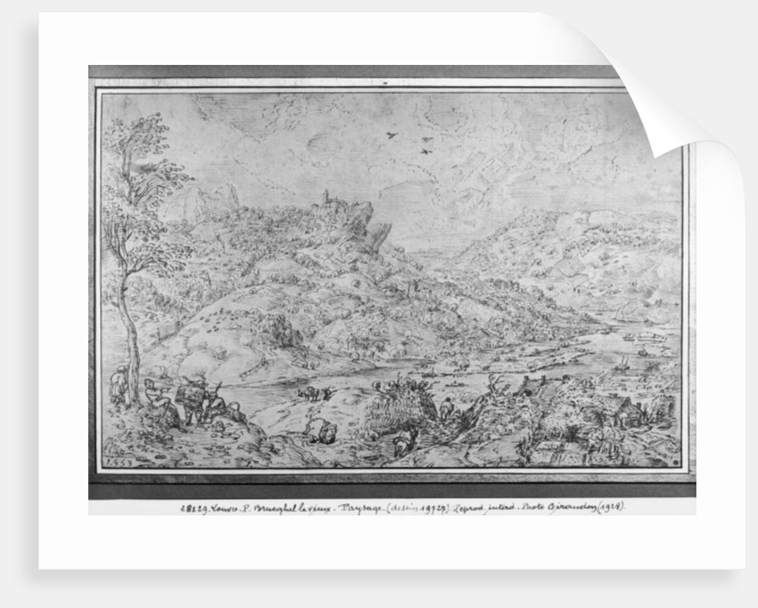 Landscape by Pieter Bruegel the Elder