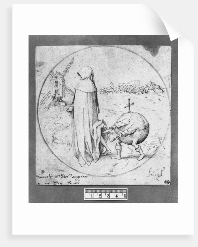 Misanthrope by Pieter Bruegel the Elder