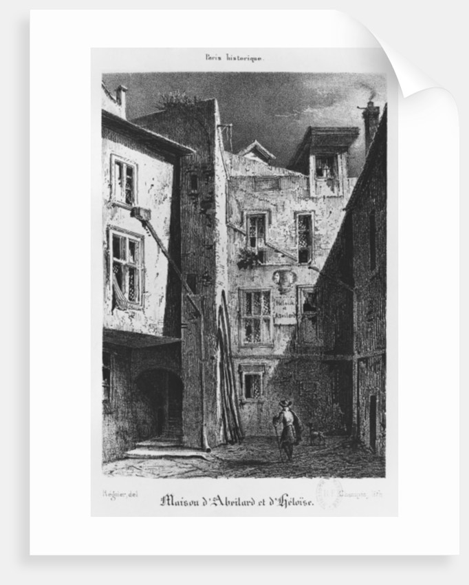 The House of Heloise and Abelard by Auguste Jacques Regnier
