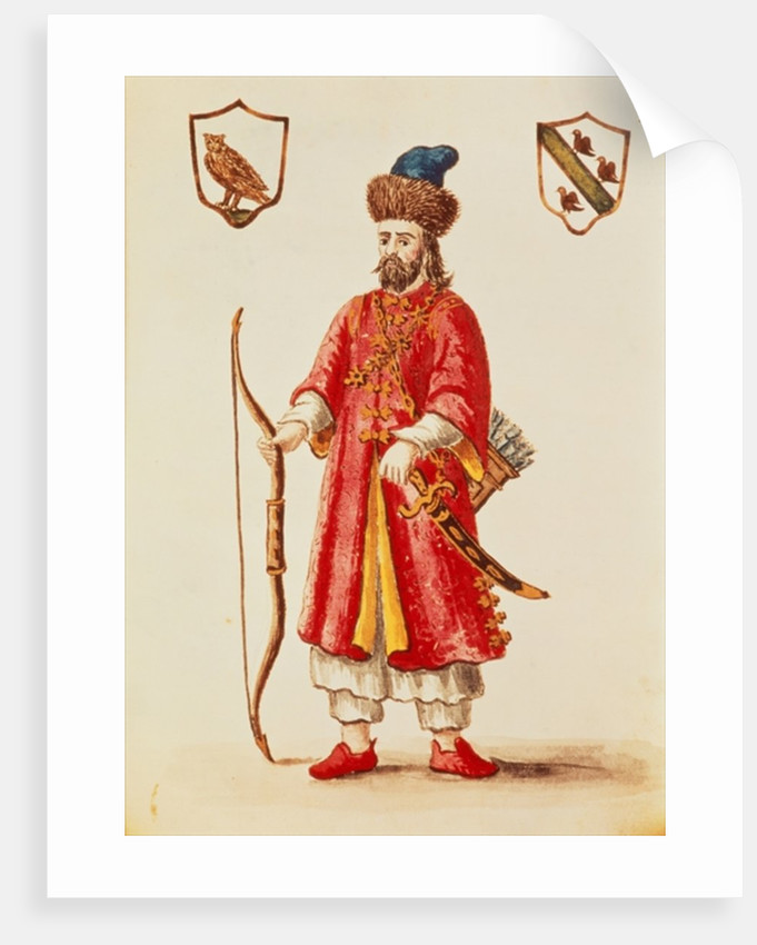 reputable site 45778 f2f72 Marco Polo dressed in Tartar costume
