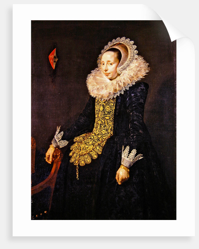 Catarina Both van der Eem by Frans Hals