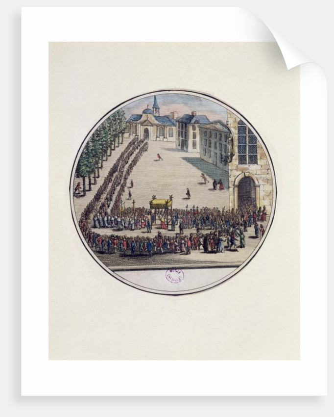 The Blessed Sacrament being carried in Procession at the Opening of the Estates General at Versailles by French School