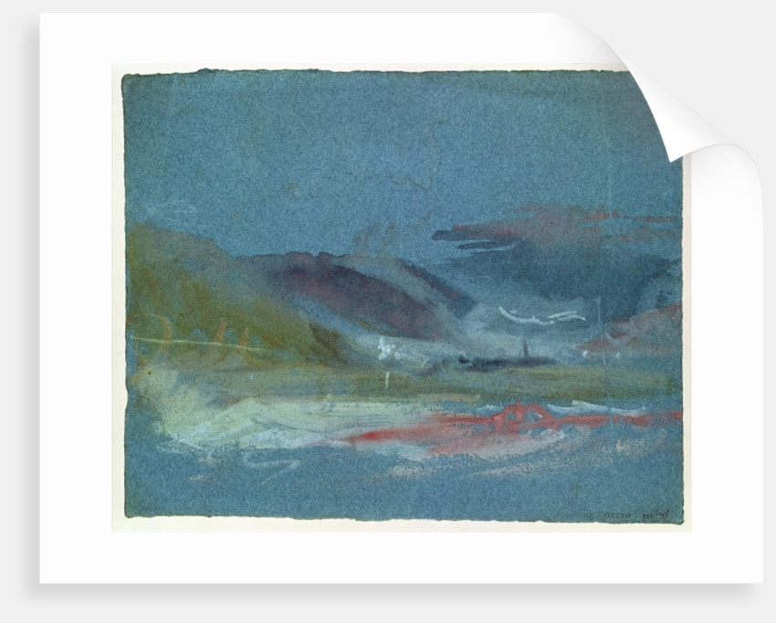 River bank by Joseph Mallord William Turner