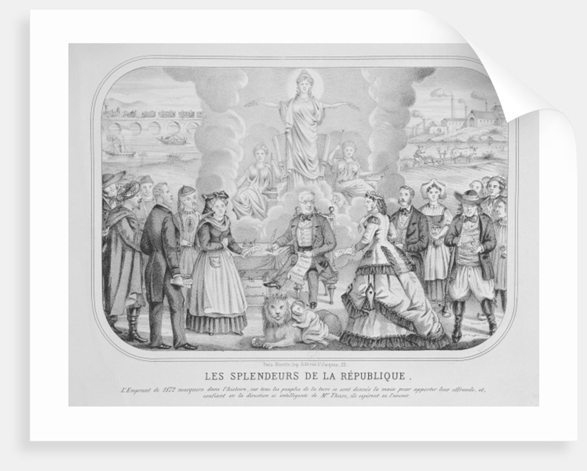 Les Splendeurs de la Republique ('The Splendours of the Republic') by French School