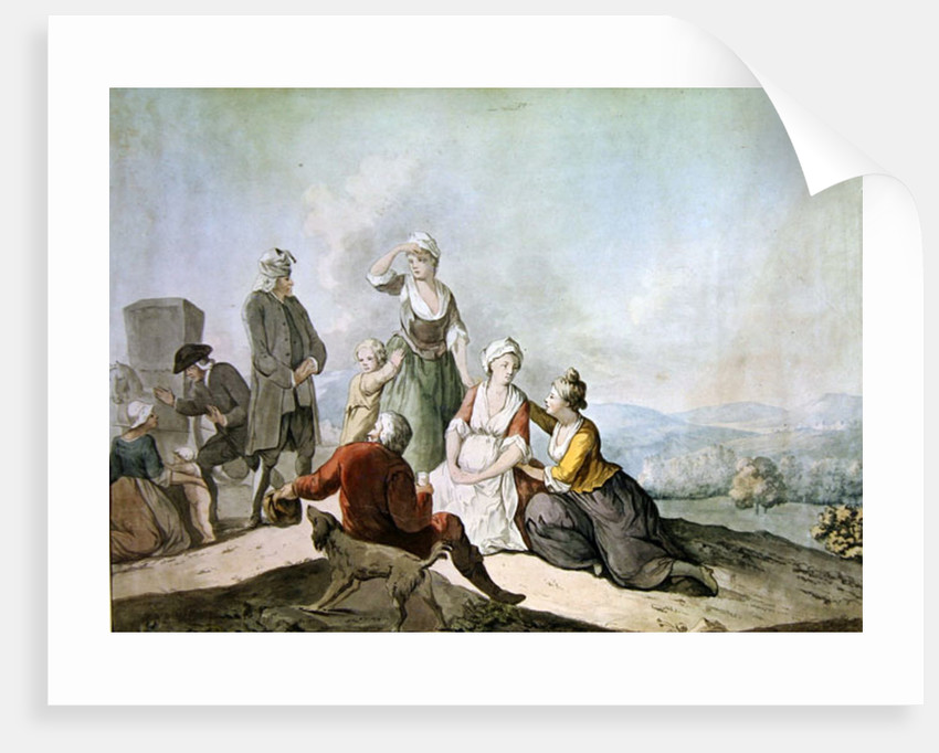 Voltaire Conversing with the Peasants in Ferney by Jean Huber