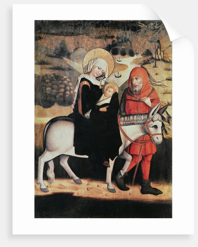 Flight Into Egypt by Master of the Lord's Passion