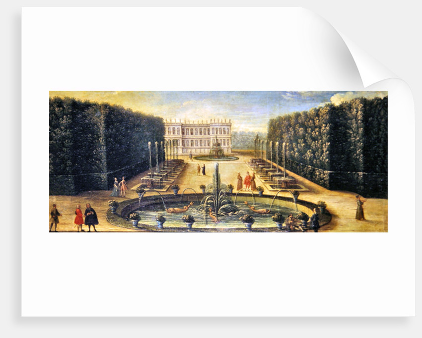 The Water Alley and the Dragon Fountain, Versailles by French School