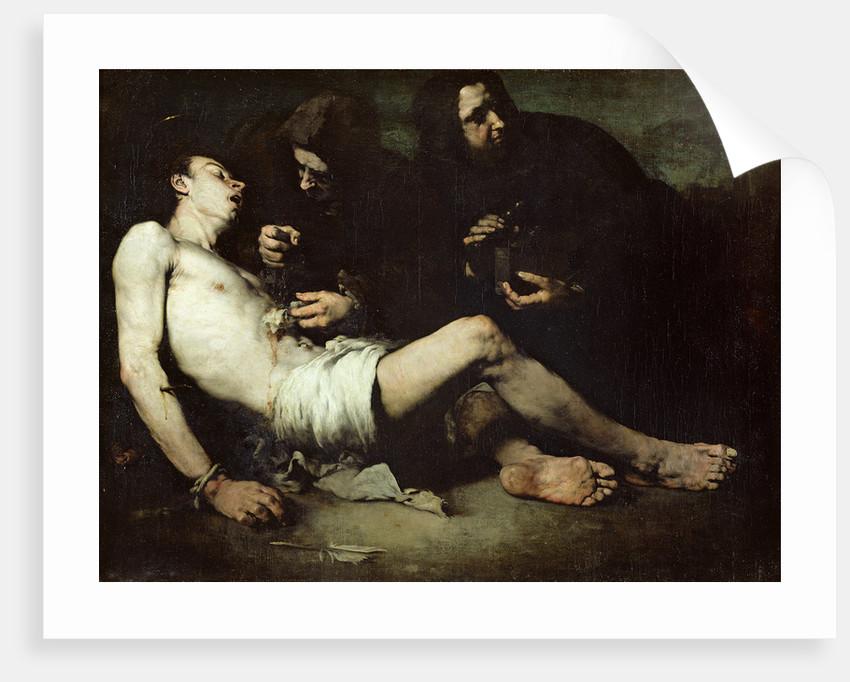 St Sebastian, martyred by Auguste Theodule Ribot
