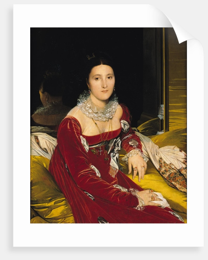 Madame de Senonnes by Jean Auguste Dominique Ingres