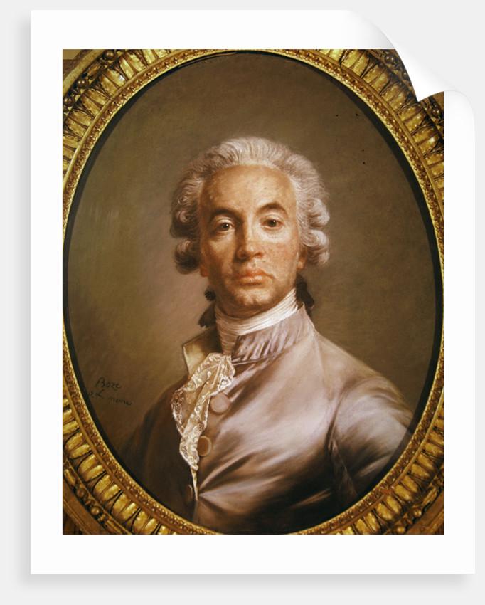 Self portrait by Joseph Boze