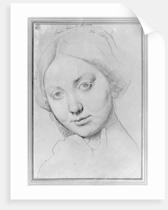 Louise de Broglie, Countess of Haussonville by Jean Auguste Dominique Ingres