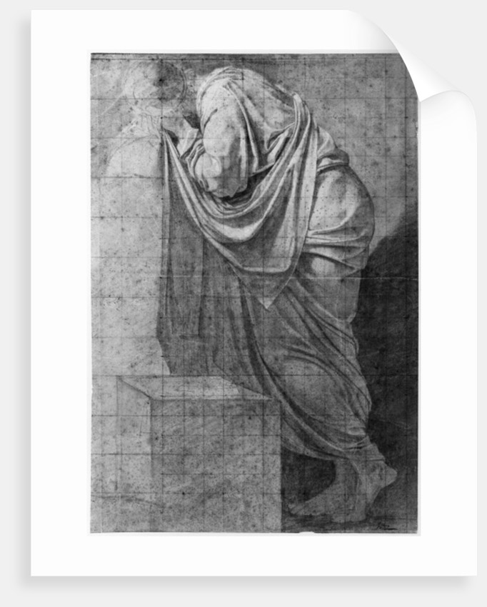 Study for 'The Death of Socrates' by Jacques Louis David