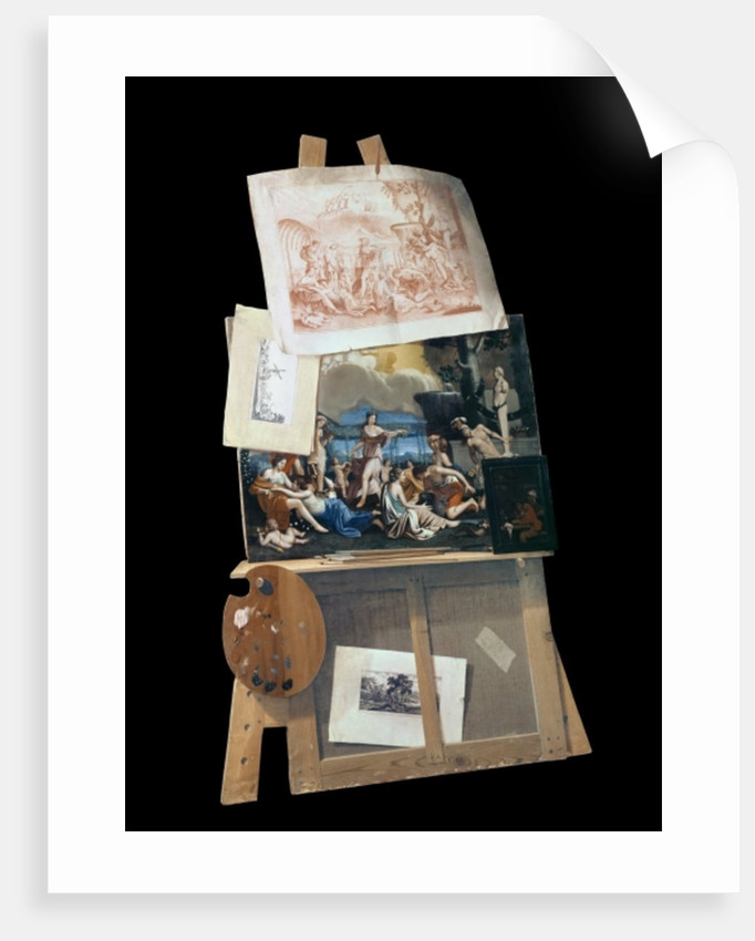 The Painter's easel by Antonio Forbera
