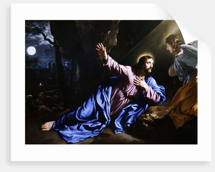 Christ in the Garden of Olives by Philippe de Champaigne
