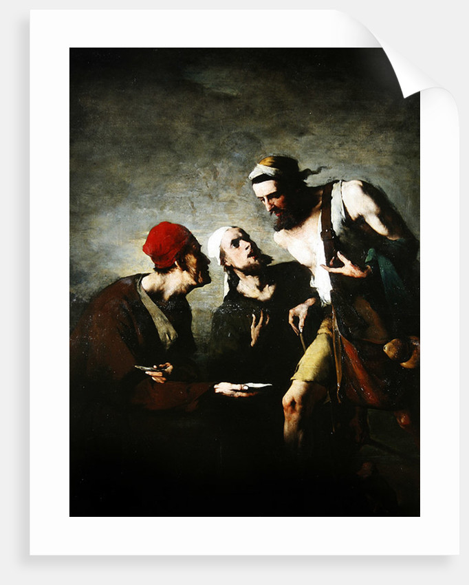 The Oyster and the Litigants by Auguste Theodule Ribot