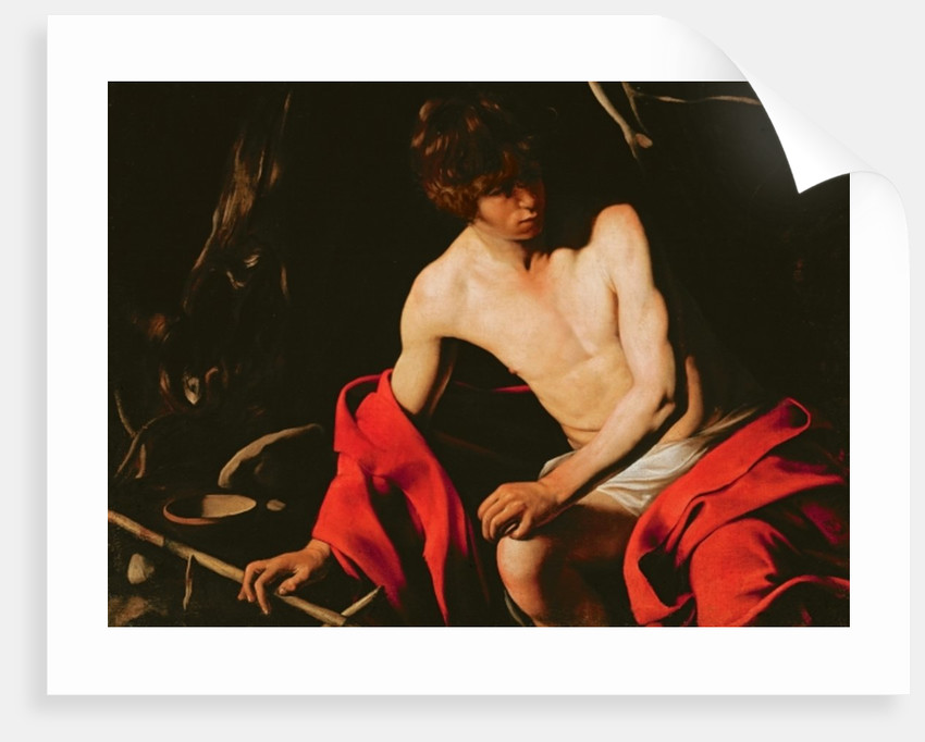 St. John the Baptist by Michelangelo Caravaggio