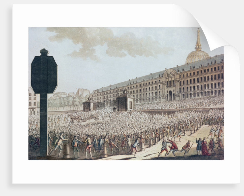 Pillage of the Invalides Armoury by French School