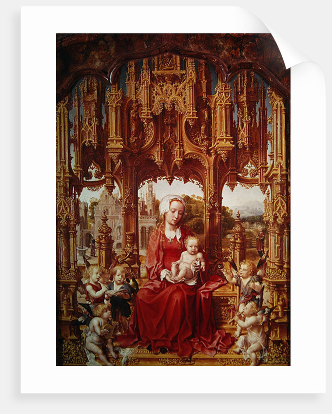 Central panel of the Malvagna Triptych by Jan Gossaert