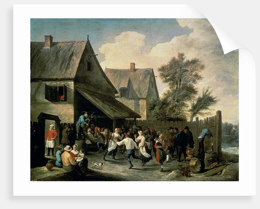 A Country Dance by David the Younger Teniers