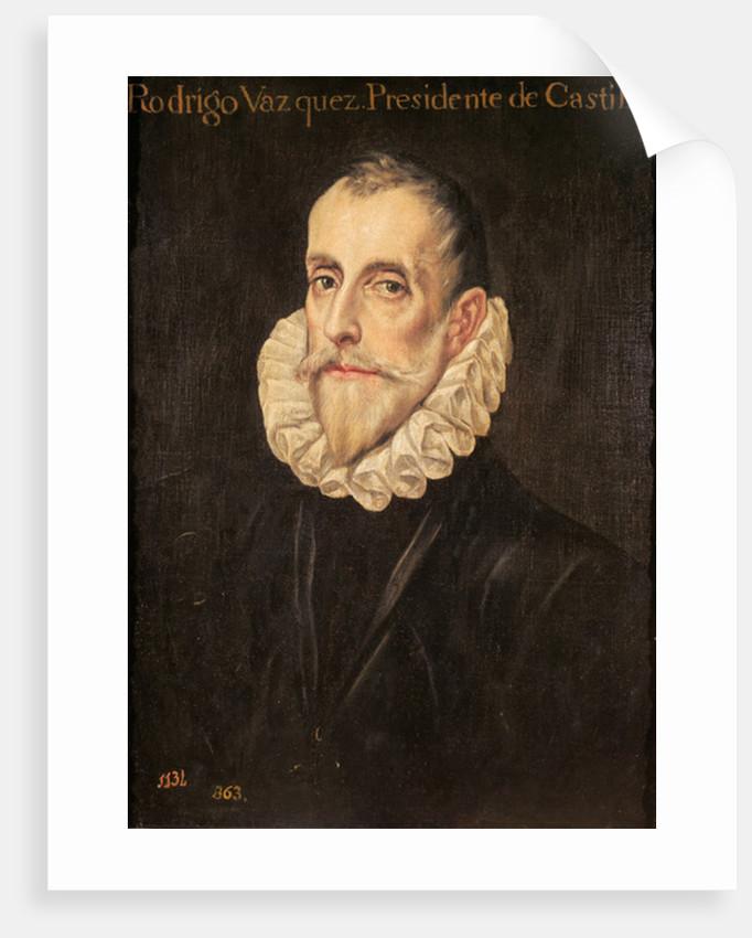 Don Rodrigo Vázquez de Arce by Domenico El Greco