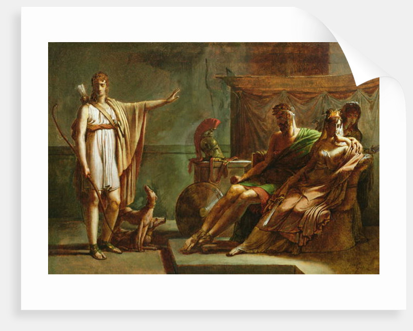 Phaedra and Hippolytus by Baron Pierre-Narcisse Guerin