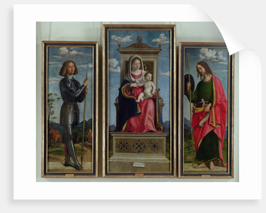 Madonna and Child with St. George and St. James by Giovanni Battista Cima da Conegliano