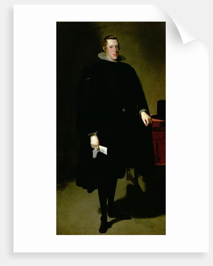 Philip IV of Spain by Diego Rodriguez de Silva y Velazquez
