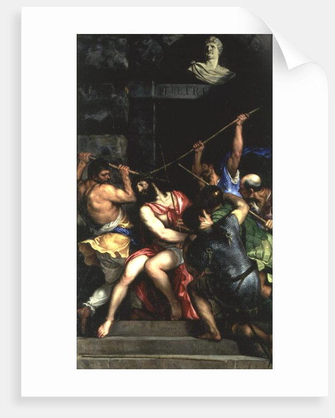 The Crowning with Thorns by Titian