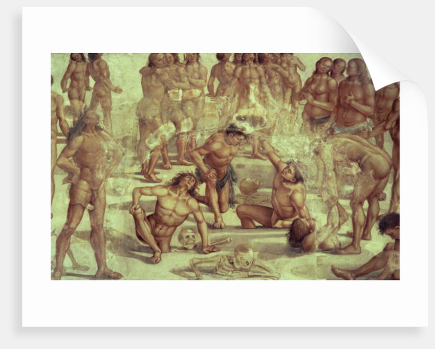 The Resurrection of the Flesh by Luca Signorelli