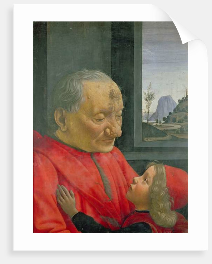 An Old Man and a Boy by Domenico Ghirlandaio