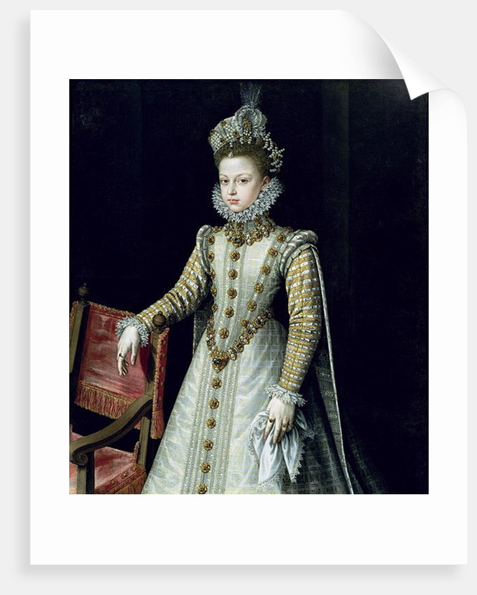 The Infanta Isabel Clara Eugenie by Alonso Sanchez Coello