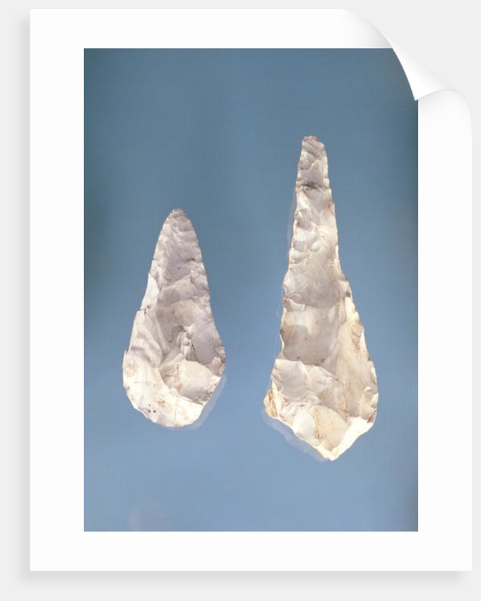 Two-sided blades, Lower Acheulean Period by Paleolithic