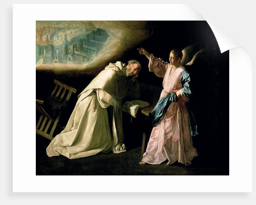 Vision of St. Peter Nolasco by Francisco de Zurbaran